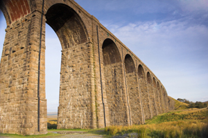 Ribblehead Viaduct on the Settle-Carlisle Railway